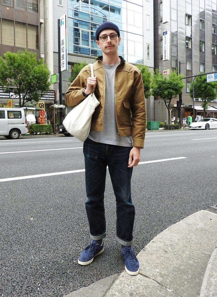 大阪 堀江 SNAP スナップ oliver peaples オリバーピープル グレンソン 革靴 レザー